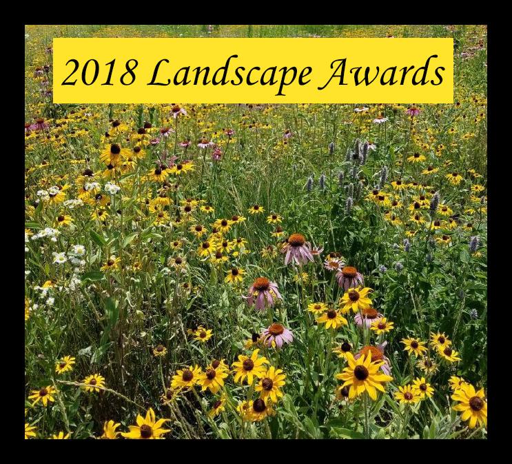 2018 Landscape Awards banner